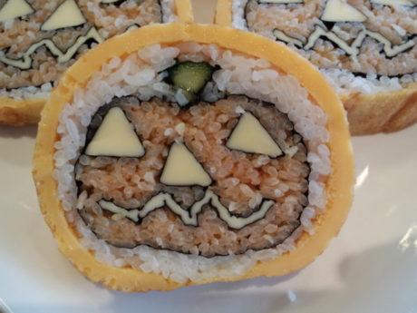 ハロウィンの巻き寿司を作ろう♪