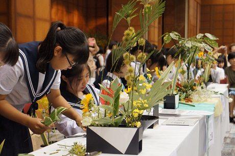 「Ikenobo花の甲子園2019」長野県大会