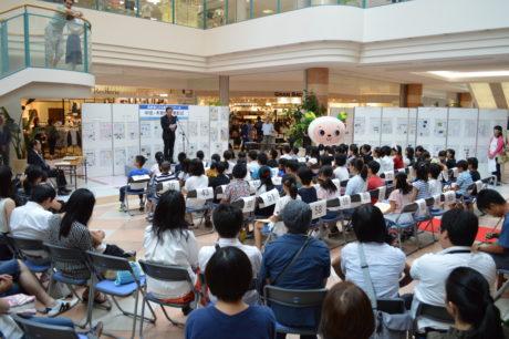 長野県こども新聞コンクール中信木曽地区展示会
