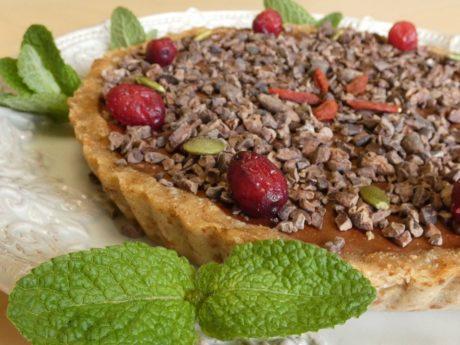 ❤️酵素パワーで綺麗に元気‼~8月講座~ローアボカドチョコレートタルトを作りましょう💕