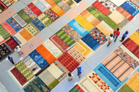 イロトリドリの世界 ゾランヴァリギャッベ展示即売会