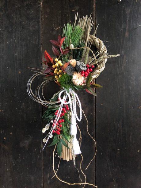 まちなかWORK SHOP 第9回 ドライフラワーと生花で作るお正月飾り